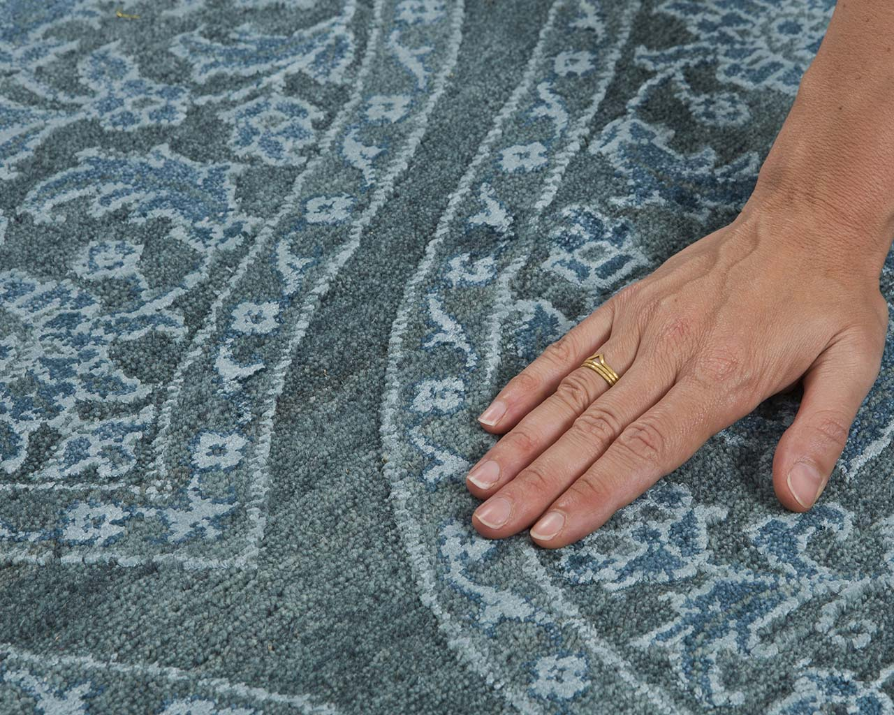 woven luxurious navy hand with ring inexpensive persian carpets