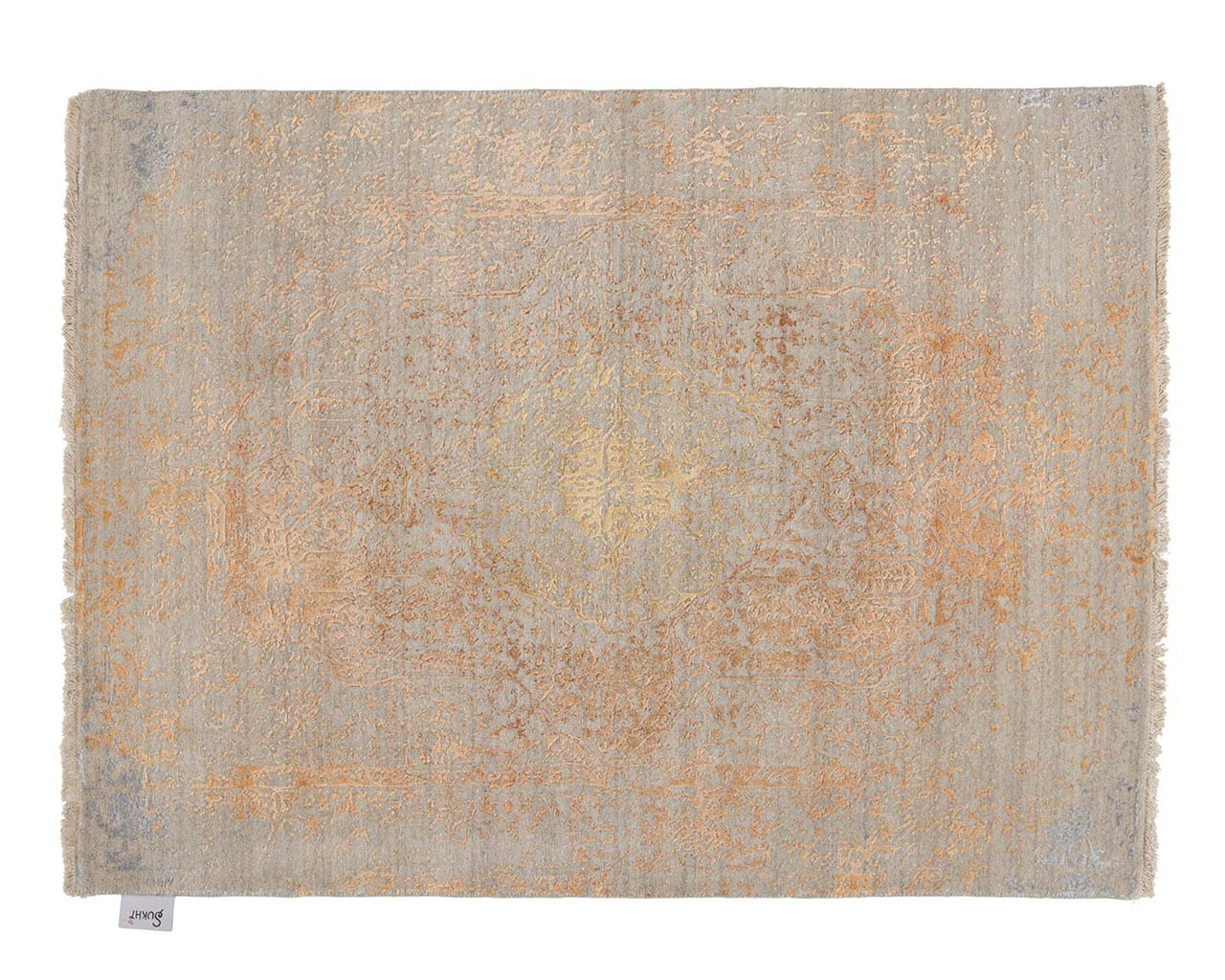 woven orange persian rugs for sale