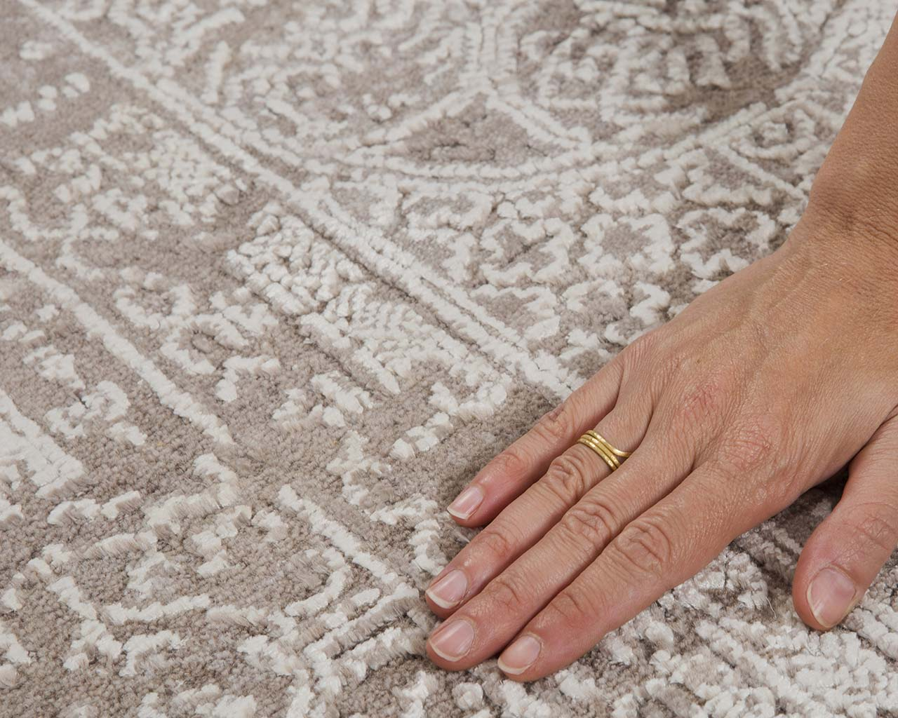 woven oriental white smoke hand with ring best contemporary carpets