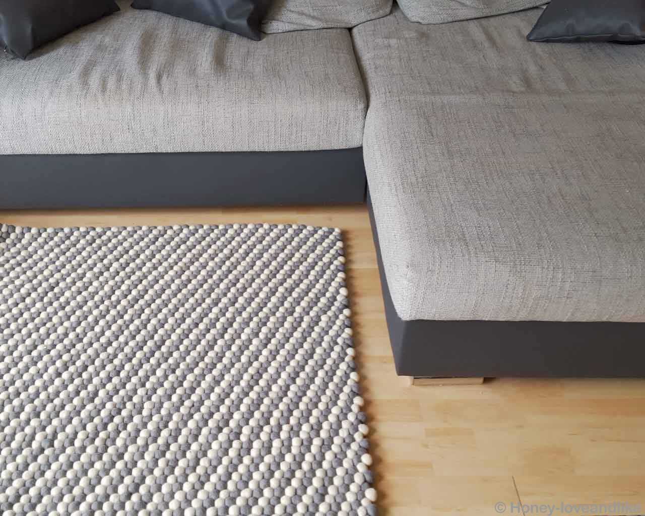 grey black sofa wooden floor rectangle brown 1