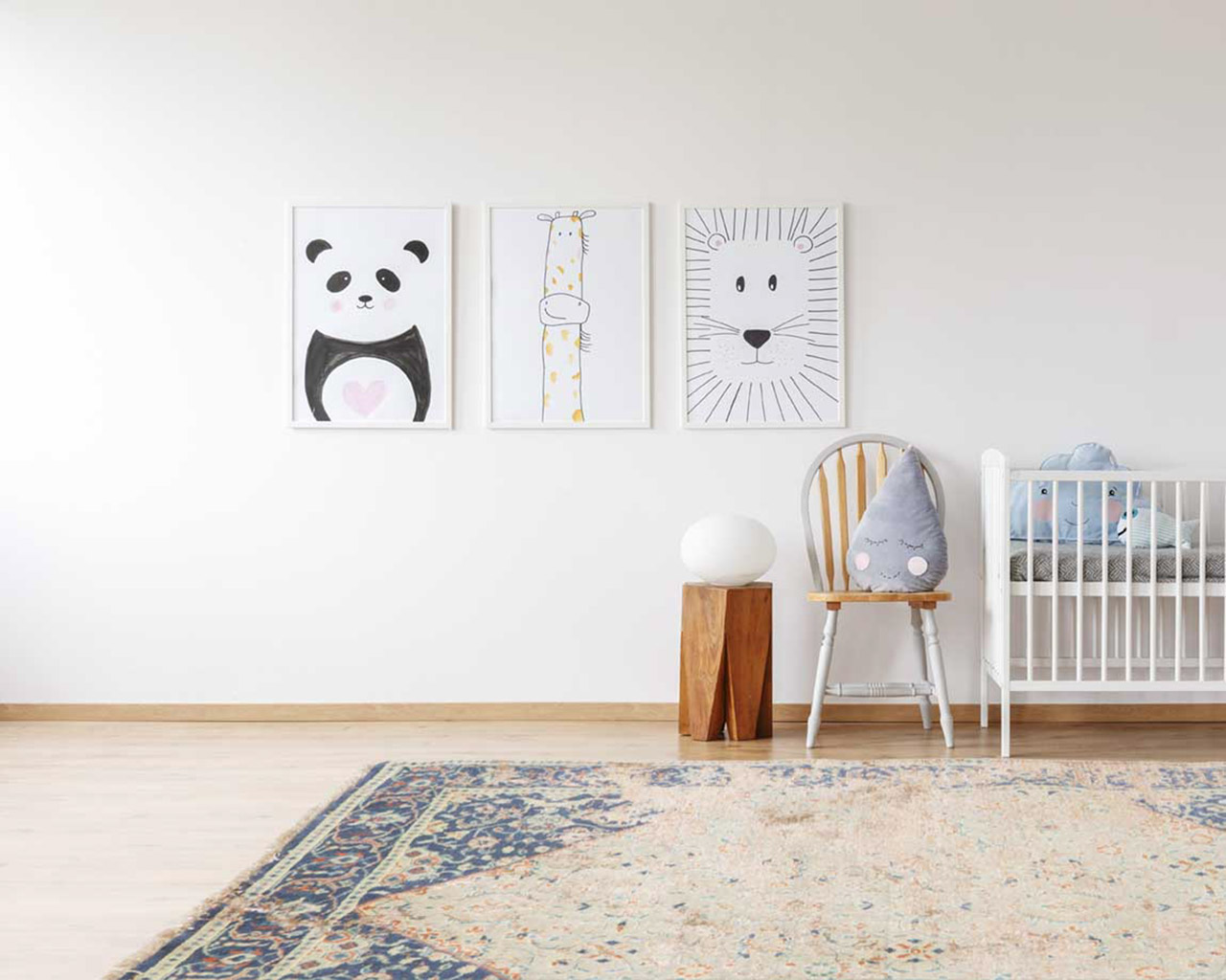 high quality material hand knotted rugs kids room