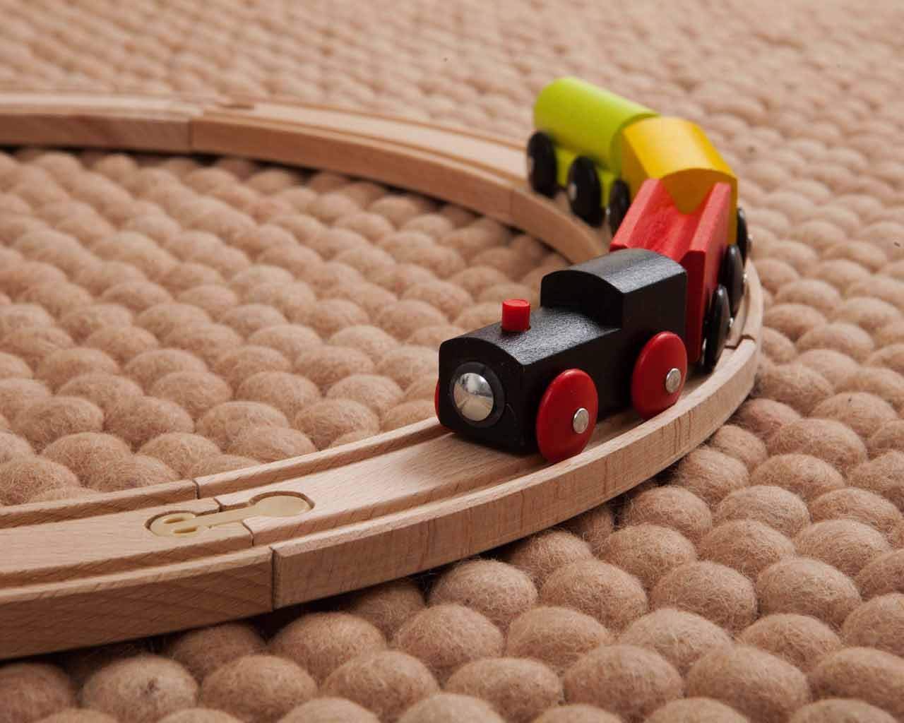 kids play train carpet bedroom