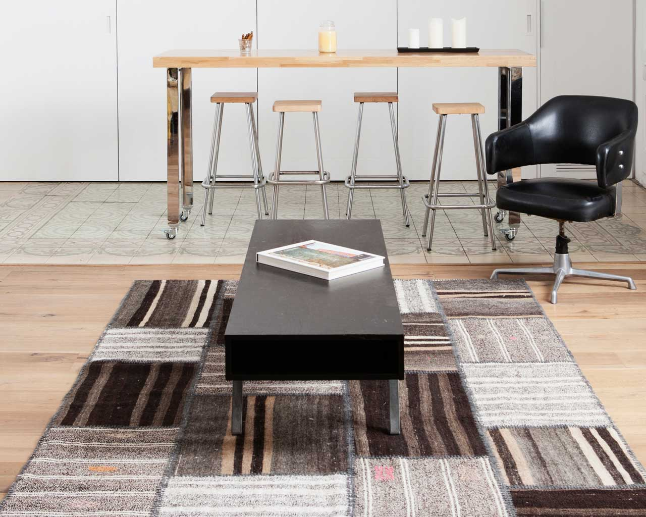 interior architect kilim patchwork rug