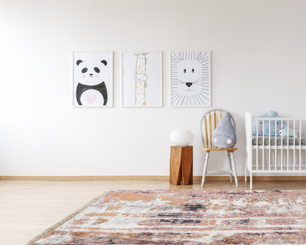 luxury hand knotted rugs kids room