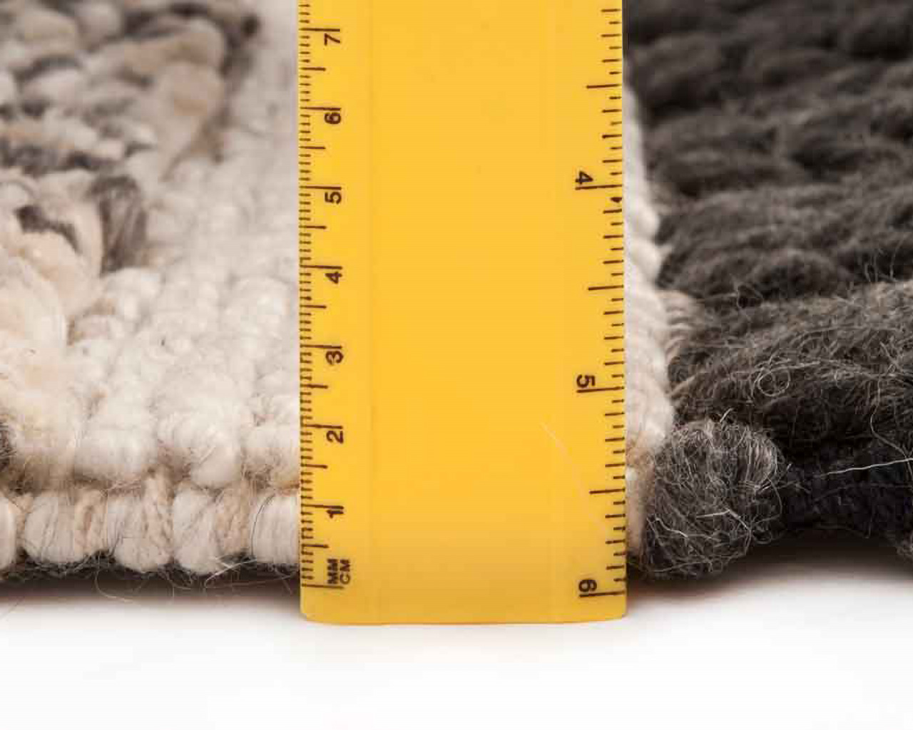 modern thick layer rugs one inch