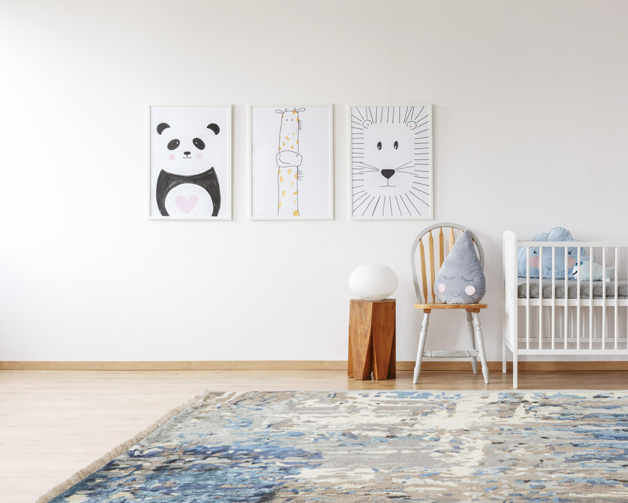 perfect hand knotted kids room rugs