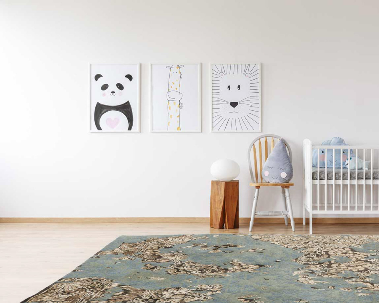 perfect matching kids room area rugs baby cart
