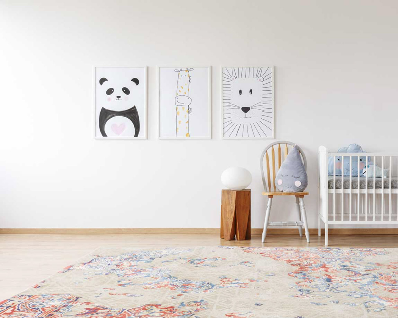 stylish kids room carpets baby cart