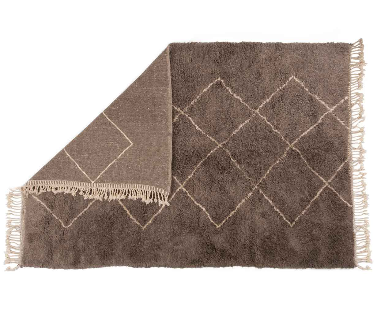 tartan wool rugs grey lines pattern 1
