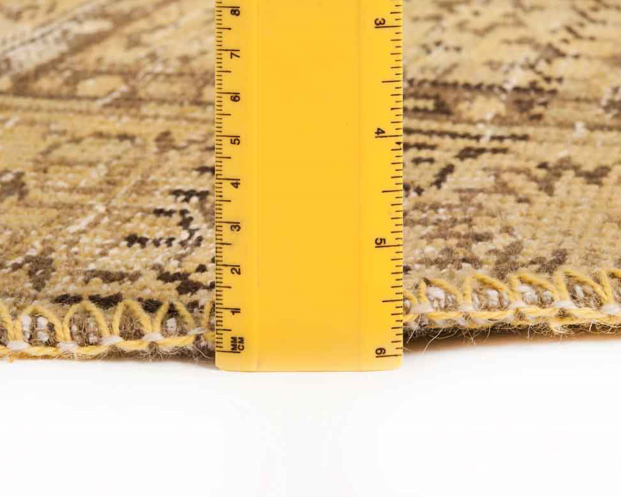 thick layer classic round carpets