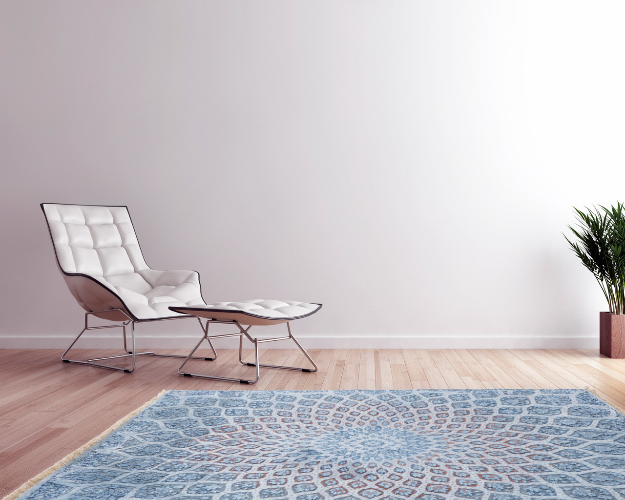 trendy hand knotted rug stylish chair table