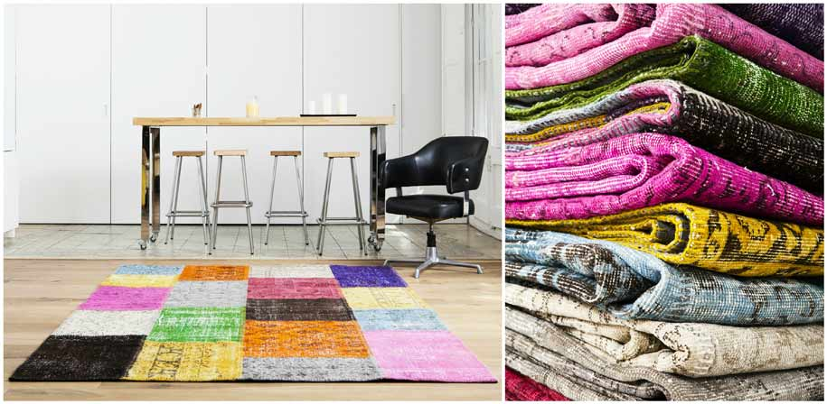 our-team-patchwork-rug